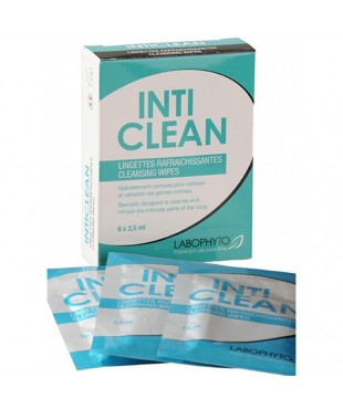 Inticlean 6 lingettes