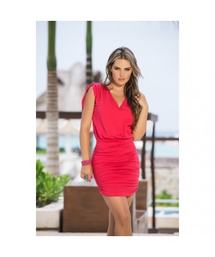 Robe Style 4917 - Rouge