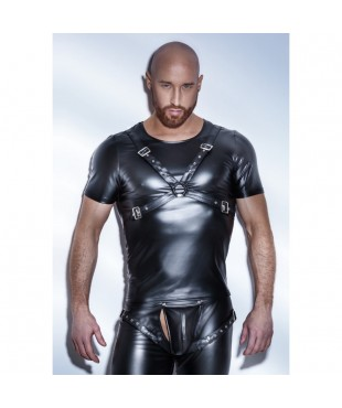 Tee Shirt Powerwetlook Harness H041 - M