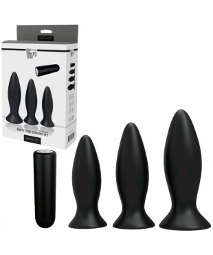 Vibromasseur Anal Rechargeable Booty Cone X3