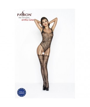 BS034 Bodystocking - Noir