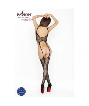 BS015 Bodystocking - Noir