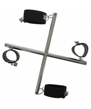 Quadruple Menottes Hog-Tie Cross Bar