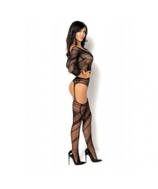 Esmeralda Bodystocking - Noir