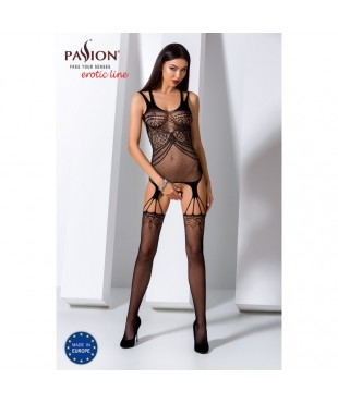 BS070B Bodystocking - Noir