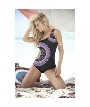 One piece swimsuit print 6859